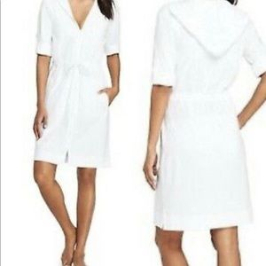 Cotton hoodie coverup NEW